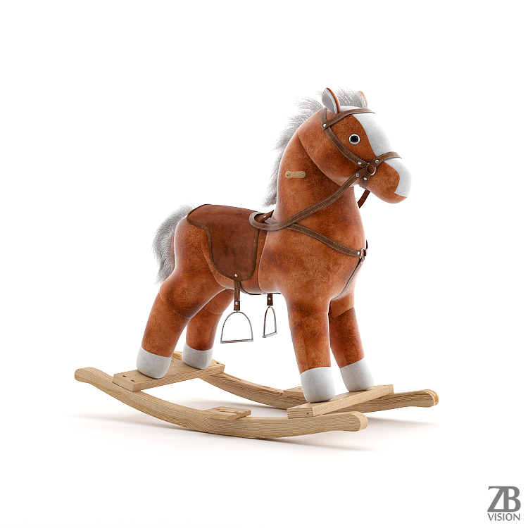 rocking_horse_toy_child_play_children_childhood_rock_swing_memories_velvet_wood_mane_tail_fur_saddle_stirrup_harness_3d_model_001