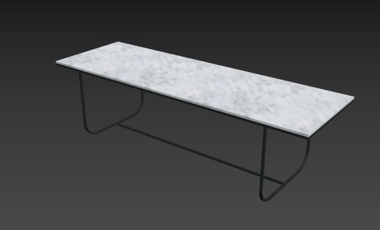 Asplund Tati Table 3D model